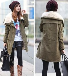 A nice outfit for the chilly weather:)