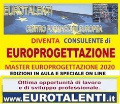 categoria evento Eventi nella sezione Corsi. Titolo Evento Corso Di Europrogettazione - Lavoro: Nuova Figura Professionale. - Milano(MI), Lombardia