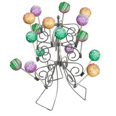 Cake Pop Stand Holder Display 18 Gourmet Baked Treat Candy Lollipop Cobble Creek * Click image to review more details.