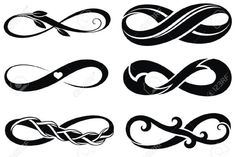 39352680-S-mbolos-Infinity-Tattoo-Foto-de-archivo.jpg (1300×868)