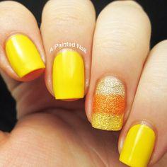 halloween  by apaintednail  #nail #nails #nailart