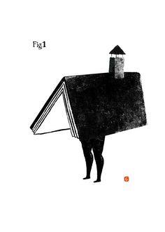 Casa lectora (ilustración de Guridi)
