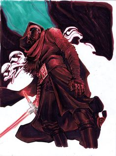 Kylo Ren by Eric Canete