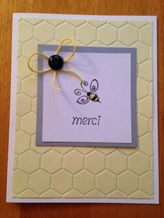 Merci by Jennifrann - Cards and Paper Crafts at Splitcoaststampers