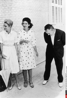 Princess Grace, Maria Callas and Prince Rainier