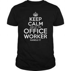 Cool  Office Worker T shirts