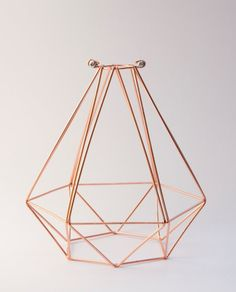 47€ Diamond Cage Lampshade by SparkandBell on Etsy