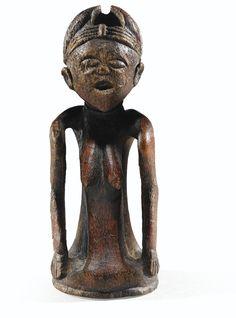 Statuette en ivoire, Pinda, Angola   lot   Sotheby's