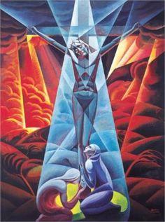 Crucifixion - Gerardo Dottori