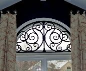 Tableaux Faux Iron Window #111