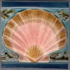 originale Jugendstil Fliese art nouveau tile tegel Utzschneider, Deutschland