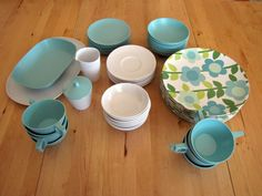 Full set of vintage Texas Ware  Reserved for Andi & by bremarie, $115.00
