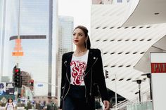 This feminist statement graphic tee is for the confident woman. Rock your support for feminism and women empowerment in this statement t-shirt. Statement Tees, Confident Woman, Women Empowerment, Feminism, Graphic Tees, Bomber Jacket, T Shirt, Jackets, Collection