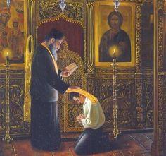 Orthodox Priest, Orthodox Christianity, Orthodox Prayers, Religious Images, Religious Art, Faith Of Our Fathers, John The Baptist, Orthodox Icons, Sacred Art
