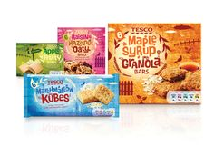 2bf2d8958 Tesco Cereal Bars Cereal Packaging, Biscuits Packaging, Chip Packaging,  Brand Packaging, Product