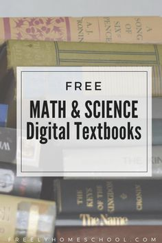 I've found free STEM activities for your interactive learner. These STEM activities are in the form of digital, interactive textbooks. They're great for a homeschooling family! Online Math Courses, Learn Math Online, Math Skills, Math Lessons, Online Textbook, Digital Textbooks, Math Stem, Stem Science, Math Help