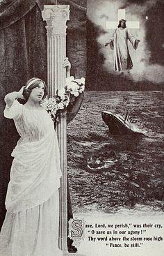 Old Titanic postcards – 2