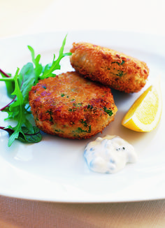 Simple fish cakes: Our famous fish cakes are one of your favourite ever olive recipes - and now the recipe is here, online! Use any white fish or salmon, but not oily fish or the texture will be heavy. We'd recommend serving them up for friends, or even at a dinner party if you add a posh salad and a little dressing on the side.