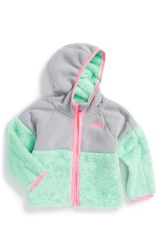 The North Face 'Chimborazo' Hoodie (Baby Girls & toddler) My Little Girl, My Baby Girl, Our Baby, Baby Baby, Baby Outfits, Kids Outfits, Baby Kind, Baby Love, Baby Girl Fashion