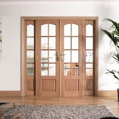 LPD Hardwood Glazed Room divider love our new doors