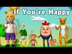 If you are happy - Kindergarten - YouTube