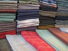Jeanne Sullivan Design Home of Fancywork & Fiberstuff - great plaids wools