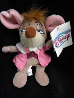 Disney Dormouse Plush Alice in Wonderland Tags Soft Toy Stuffed Animal RARE   eBay