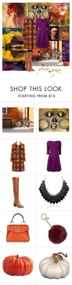 """""""Pumpkin & Plums"""" by deborah-518 ❤ liked on Polyvore featuring WALL, Diane James, Hardy Amies, Roland Mouret, Jeffrey Campbell, Adoriana, Proenza Schouler, Michael Kors and Fantastic Craft"""