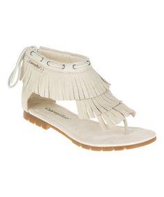 Look what I found on #zulily! Shell Jazmyne Leather Sandal #zulilyfinds