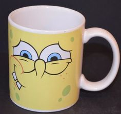 Spongebob Squarepants Coffee Tea Cocoa Mug  | eBay