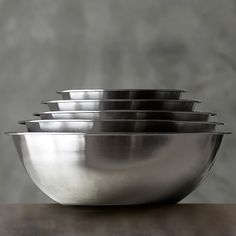 Stainless Steel Restaurant Mixing Bowl #williamssonoma