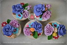 Garden of Roses by Cakes For Thoughts, via Flickr