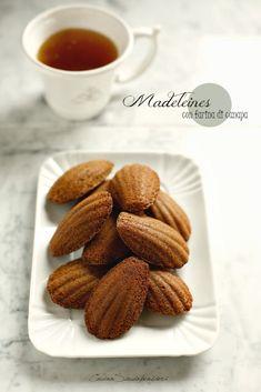 Cucina Scacciapensieri: Madeleines gluten free con farina di canapa