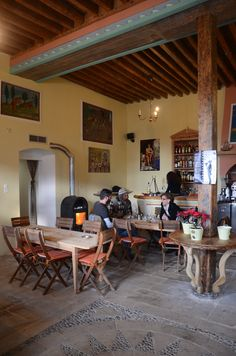 Greek traditional coffee house