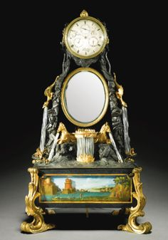 James Cox, a musical automaton clock, London circa 1775.