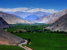 Valle de Copiapo desde Viña del Cerro, Tierra Amarilla, Atacama, Chile