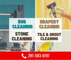 Cleaning Stone, Rug Cleaning, Clean Tile Grout, Grout Cleaner, Carpet Tiles, Stone Tiles, Drapery, Rugs, Floors Of Stone