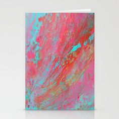 Colourful Nebula Universe Abstract Acrylic Painting Stationery Cards by Fold Envelope, Blank White, Envelopes, Card Stock, Stationery, Universe, Greeting Cards, Smooth, Bright