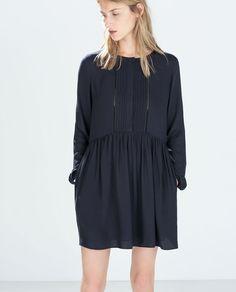 ZARA - WOMAN - PLEATED DRESS