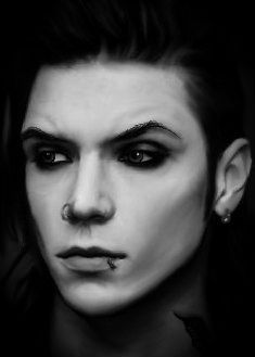 Oh My God so perfect... Andy Biersack <3