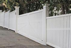 Bottom Sloped : Wooden Gates Fences driveway gates Wooden gate manufacturers Auckland New Zealand Waiuku