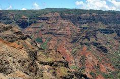 Tips for visiting and hiking in Waimea Canyon and Koke'e State Park on the island of Kauai, Hawaii.