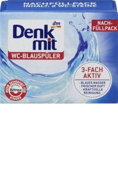 Der Denkmit WC-Blauspüler sorgt 3fach aktiv für kraftvolle Reinigung, meerblaues Wasser und frischen Duft. Die Wirkstoffkombination beugt Schmutzbildung...