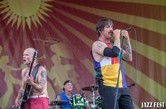 red hot chili peppers  jazzfest 2016