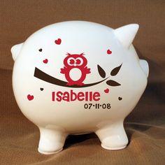 ●▬▬▬▬▬▬▬▬▬▬▬▬▬▬▬▬▬▬▬▬▬▬▬▬▬▬▬▬▬▬▬▬▬▬▬●--------------------- 8 Personalized Owl Piggy Bank with Decal - Extra Large Custom Piggy Bank, Owl Decor ●▬▬▬▬▬▬▬▬▬▬▬▬▬▬▬▬▬▬▬▬▬▬▬▬▬▬▬▬▬▬▬▬▬▬▬▬● ▬▬▬▬▬▬▬CUSTOMIZATION INFORMATION▬▬▬▬▬▬▬▬▬▬▬ ●▬▬▬▬▬▬▬▬▬▬▬▬▬▬▬▬▬▬▬▬▬▬▬▬▬▬▬▬▬▬▬▬▬▬▬▬● Customization: Many