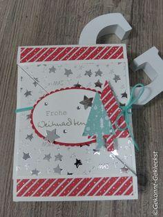 Gekonnt-Gekleckst #weihnachtskarten  #funfoldcards  #cards  #christmascard