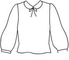 Clothing Coloring Pages 15