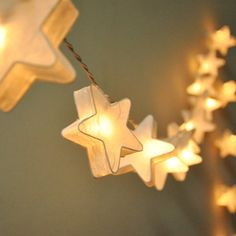 star paper lanterns -- lovely inside and out