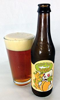 June 2014 - Dogfish Head Aprihop - American IPA with apricot flavors. Really good, a little more bitter than I've developed taste for yet. 8.