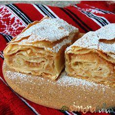 Tort Seherezada – un desert oriental - simonacallas Romanian Desserts, Romanian Food, Apple Desserts, Dessert Recipes, Good Food, Yummy Food, Food To Make, Sweet Tooth, Food Photography